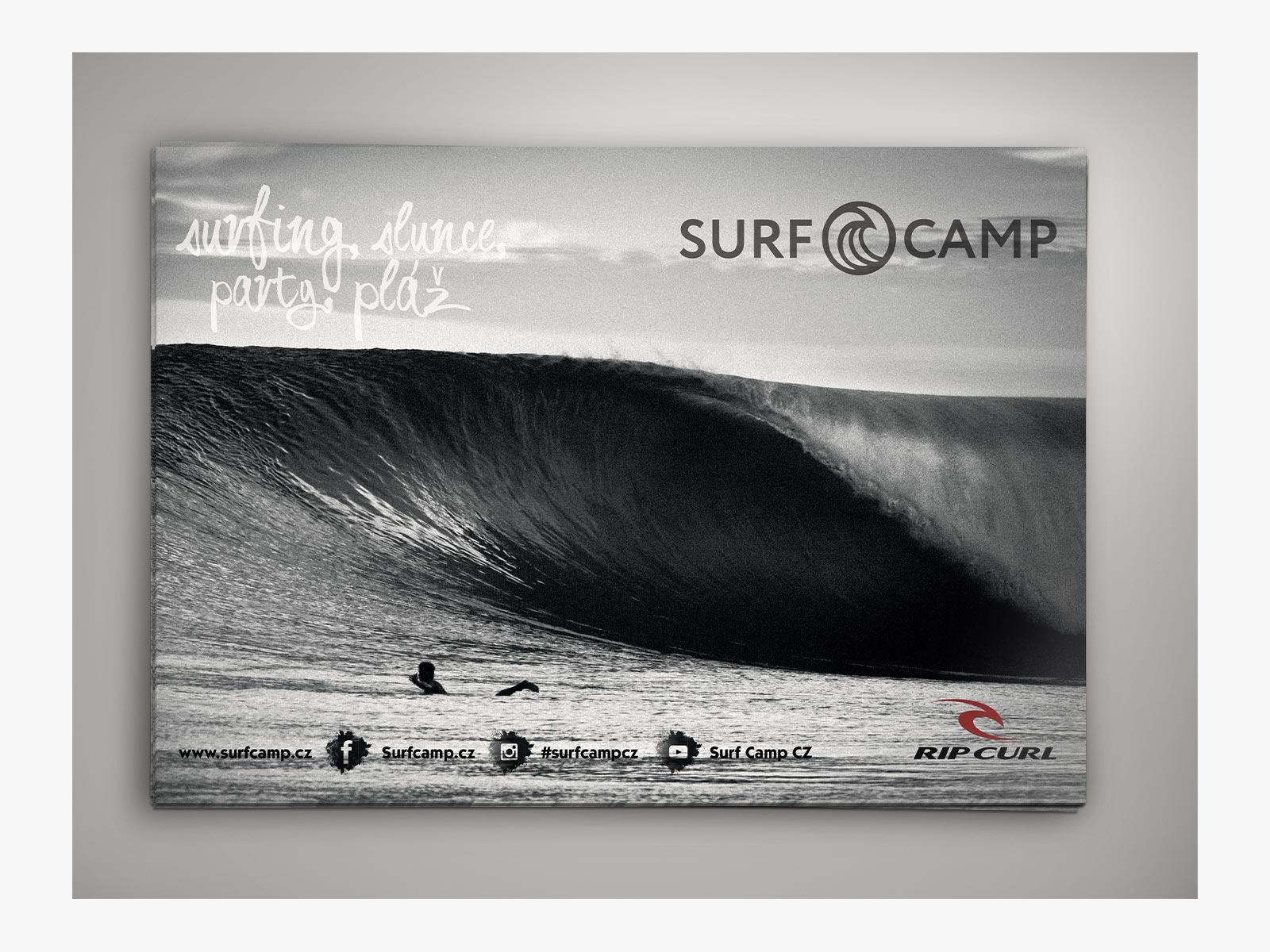 Surfcamp poster