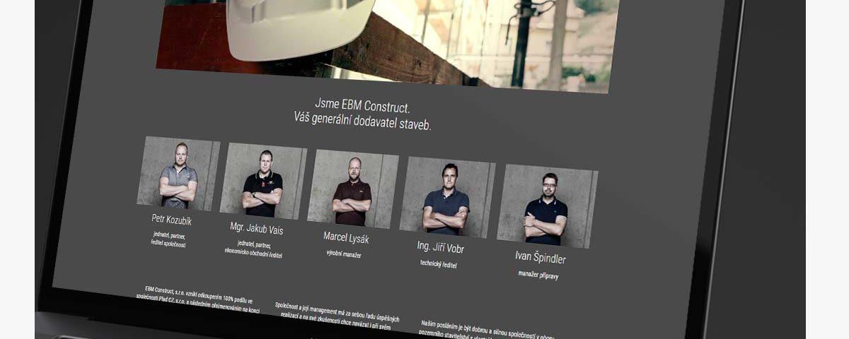 web ebmconstruct.cz